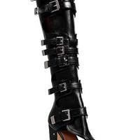 Laurence Dacade - Black Leather Dolene Open Toe Boots