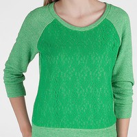 Daytrip Lace Overlay Sweatshirt - Women's Sweatshirts | Buckle