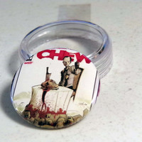 "Comic Book 1.5"" Button// Chew// Tony Chu"