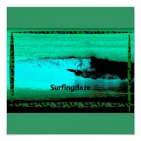 surfingdaze poster from Zazzle.com