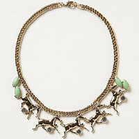 Menagerie Galloping Horse Necklace