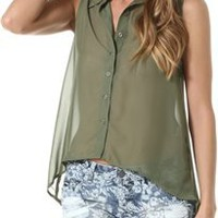 TOUGH STUDDED COLLAR TANK | Swell.com