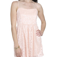 Spaghetti Strap Lace Dress | Shop Dresses at Wet Seal