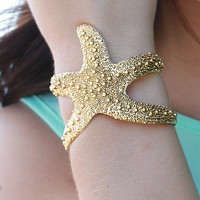 The Mermaid's Starfish Cuff