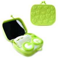 Amazon.com: Handbag Shaped Contact Lens Travel Kit (Lime): Electronics
