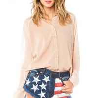 American Flag Cut-Off Shorts - ShopSosie.com