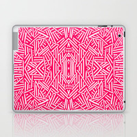 Radiate (Coral) Laptop & iPad Skin by Jacqueline Maldonado