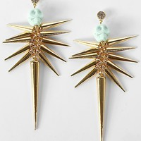 Daytrip Spike & Skull Earring - Women's Accessories | Buckle