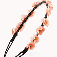 Braided Floral Headband | FOREVER 21 - 1000128368