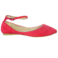 Cherry on Top Ankle Strap Flats