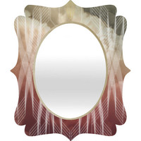 DENY Designs Home Accessories | Gabi Armaturam Dei Quatrefoil Mirror