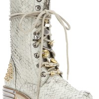 Baldan Studded Lace Up Boot - Biondini - Farfetch.com