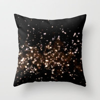 DUSTODUST Throw Pillow by Chrisb Marquez