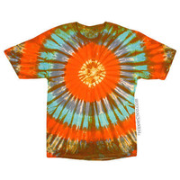 Butterscotch Tie Dye T Shirt on Sale for $16.95 at HippieShop.com