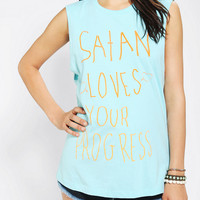 Urban Outfitters - Warpaint Progress Muscle Tee