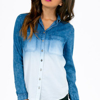 Adelie Button Up Top $42