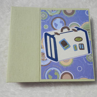 6 x 6  Vacation or Travel Scrapbook Photo Album