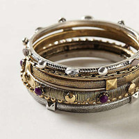 Anthropologie - Studded Bangle Set