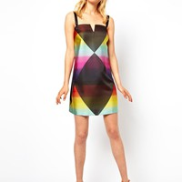 ASOS Rainbow Shift Dress at asos.com