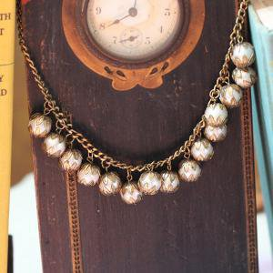 pearls of royalty necklace in gold - $19.99 : ShopRuche.com, Vintage Inspired Clothing, Affordable Clothes, Eco friendly Fashion