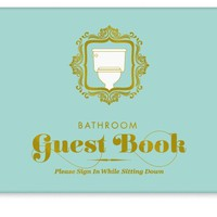 Bathroom Guest Book - Whimsical & Unique Gift Ideas for the Coolest Gift Givers