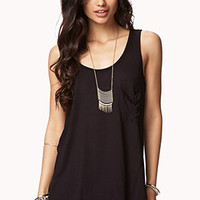 Draped Back High-Low Tank | FOREVER 21 - 2054635135