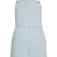MOTO Clean Denim Pini Dress - Dresses  - Clothing