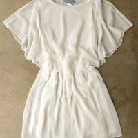 Whispering White Bliss Dress [4158] - $36.00 : Vintage Inspired Clothing & Affordable Summer Frocks, deloom | Modern. Vintage. Crafted.