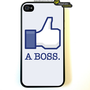 Iphone 4 Case Like A Boss Geek Funny iPhone 4 by KeepCalmCaseOn