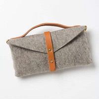 Anthropologie - Riveted Felt Bike Bag