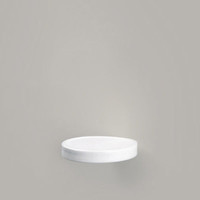 "Wall Shelf ""Disc"" - porcelain 
