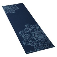 "Natural Fitness Eco-Smart Yoga Mat - 24""x69""x4mm, Indigo/Aqua"