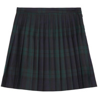 McQ Alexander McQueen | Tartan pleated wool mini skirt | NET-A-PORTER.COM