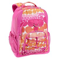 Gear-Up Pink Ombre Dot Backpack