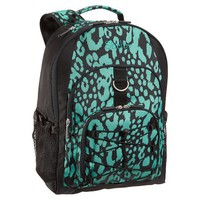 Gear-Up Black + Pool Cheetah Backpack