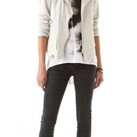 Pencey Standard French Terry Moto Jacket / Vest | SHOPBOP