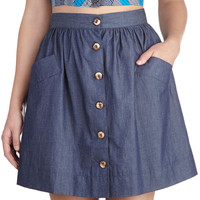 Countdown to Casual Skirt | Mod Retro Vintage Skirts | ModCloth.com