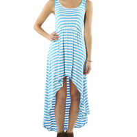 Striped Tank High-Low Dress | Shop Just Arrived at Wet Seal