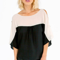 Shoulder Shake Top $25