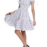 Hell Bunny Lotti Floral Stripe Dress | Hot Topic