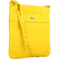 BEAUTIFUL Authentic Lacoste Vertical Flat Crossover Crossbody Bag Yellow