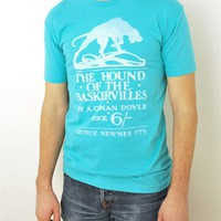 The Hound of the Baskervilles book cover t-shirt | Outofprintclothing.com