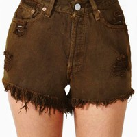 Boot Camp Cutoff Shorts