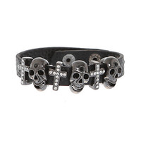Crosses & Skull Bracelet | Hot Topic