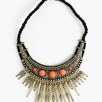 Iron Sunburst Necklace