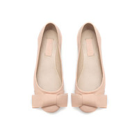 LEATHER BALLERINA FLATS - Shoes - Girl - Kids | ZARA United States