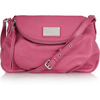 Marc by Marc Jacobs | Classic Q Natasha textured-leather shoulder bag | NET-A-PORTER.COM
