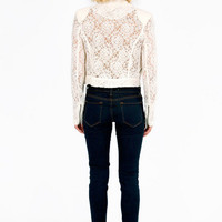 Yana Lace Jacket $50