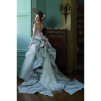 Halter A Line Wedding Dress