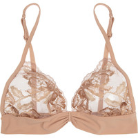La Perla | LP Style lace and stretch-jersey soft-cup bra | NET-A-PORTER.COM